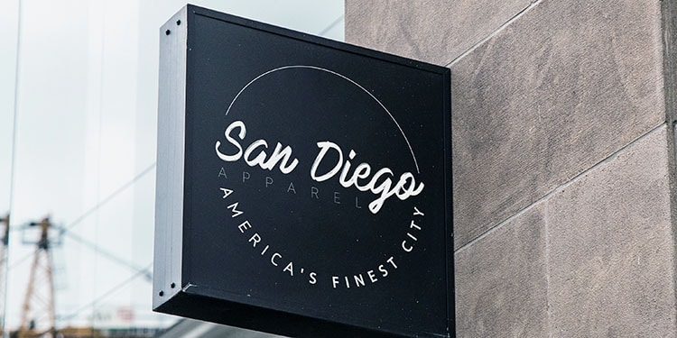 Small Business Logos on Signage